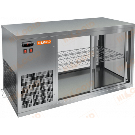 Vrl 1300 l настольная холодильная витрина - 1