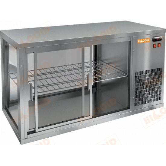 Vrl 900 r настольная холодильная витрина - 1