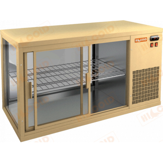 Vrl 900 r beige настольная холодильная витрина - 1