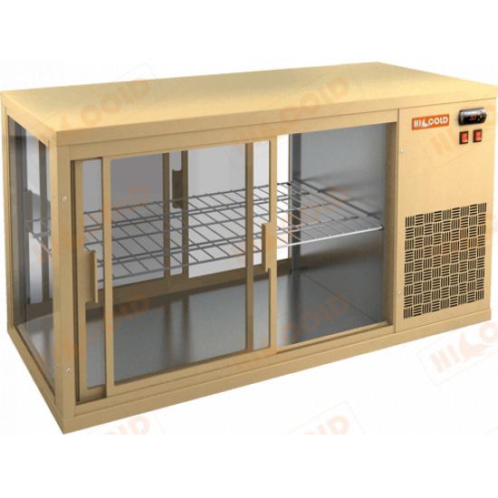 Vrl t 900 r beige настольная холодильная витрина - 1