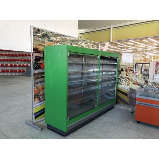 Холодильная горка crosby (кросби) вс 1.70-1250g (стеклянный фронт) - 1