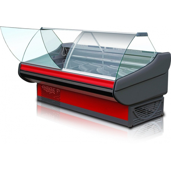Холодильная витрина титаниум ву 5-150-02 (без боковин, вынос) - 1