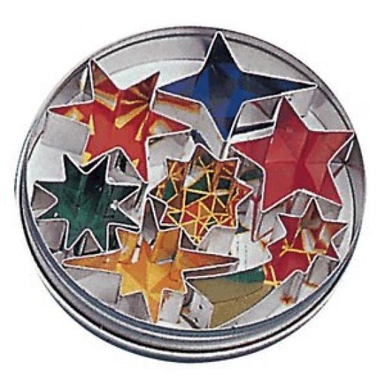 Форма конд. «звезды» (7шт) paderno 47335-12 - 1