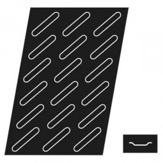 Форма конд. «эклер» (18шт) paderno 41760-20 - 1