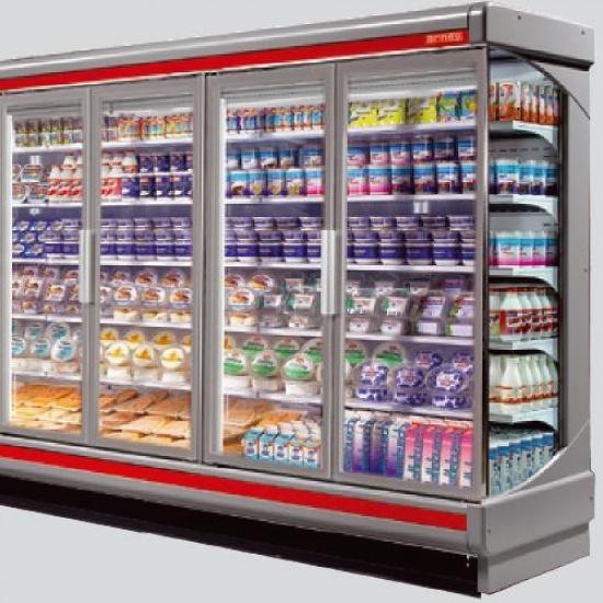 Горка холодильная san paolo mf 90 н2000/1875 - 1