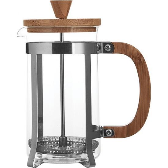 Кофейник с прессом бамбук Bodum W23001060, термост.стекло, сталь нерж., 0, 6л - 1