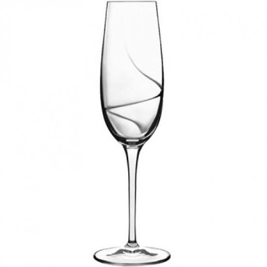 Бокал-флюте «Аэро» Bormioli Luigi C354-10939/01, хр.стекло, 235мл - 1