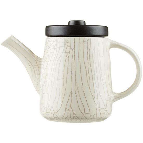 Чайник конический «день и ночь» dymov 311405, керамика, 0, 5л - 1
