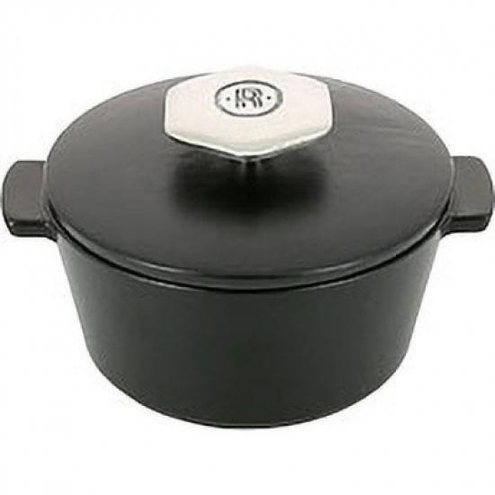 Кастрюля д/сервировки с крышкой «Революшн» Revol 649550, керамика, 200мл - 1