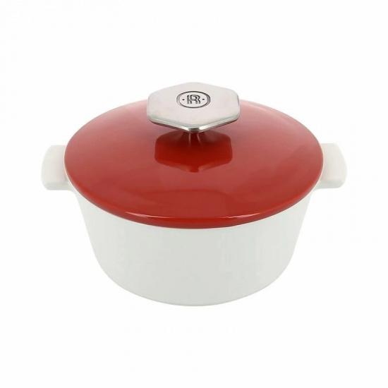 Кастрюля д/сервировки с крышкой «Революшн» Revol 649795, керамика, 1, 2л - 1
