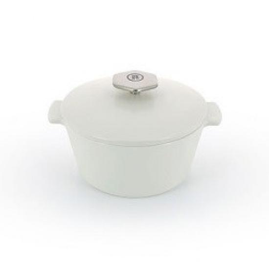 Кастрюля д/сервировки с крышкой «Революшн» Revol 649797, керамика, 190мл - 1