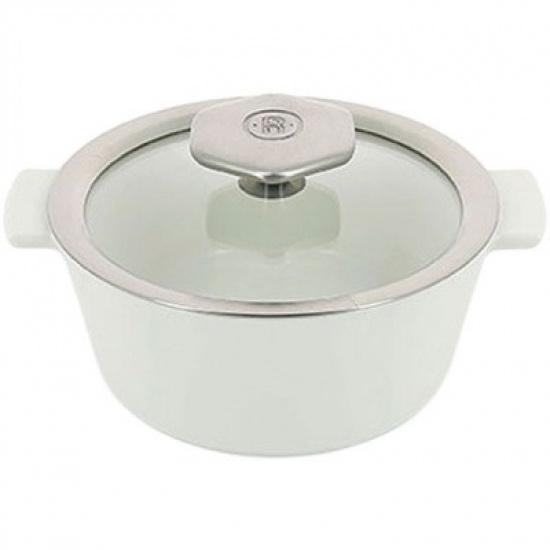 Кастрюля д/запекания с крышкой «Революшн» Revol 649830, термост.стекло, керамика, 0, 8л - 1