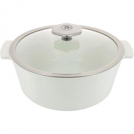 Кастрюля д/запекания с крышкой «Революшн» Revol 649857, термост.стекло, керамика, 3, 4л - 1