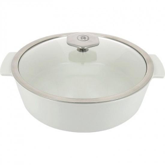 Кастрюля д/запекания с крышкой «Революшн» Revol 649865, термост.стекло, керамика, 3, 6л - 1