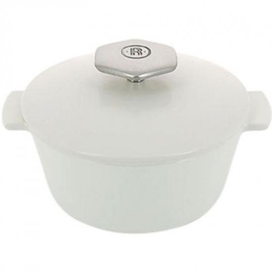 Кастрюля д/запекания с крышкой «Революшн» Revol 649837, керамика, 0, 8л - 1