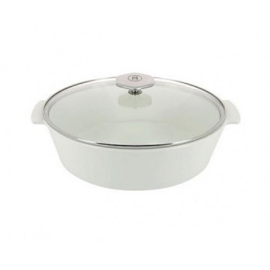 Утятница с крышкой «Революшн» Revol 649873, термост.стекло, керамика, 3, 5л - 1