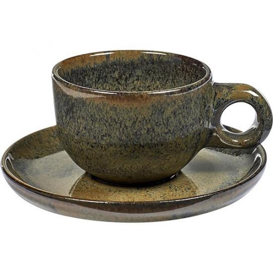 Пара кофейная д/лунго «Серфис» Serax B5116222B, керамика, 130мл - 1