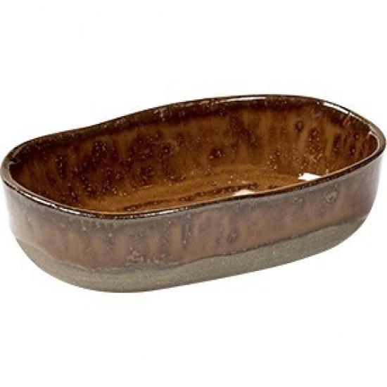 Блюдо глубокое №8 «Мерси» Serax B5117131, песчаник, H=25, L=98, B=65мм - 1