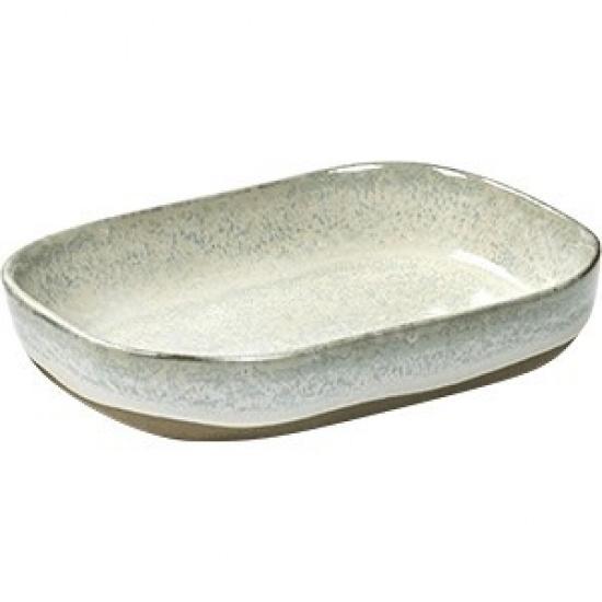 Салатник №7 «Мерси» песчаник Serax B5117128, H=30, L=145, B=105мм, кремов. - 1