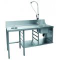 Столы для посудомочных машин Abat
